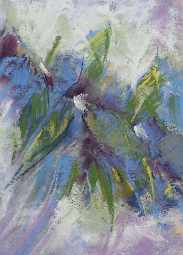 """Willowy"" original fine art by Cindy Haase"