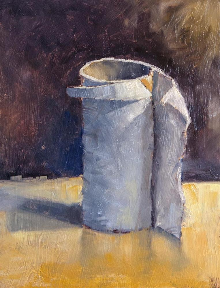 """""""TP Roll"""" original fine art by Terry Houseworth"""
