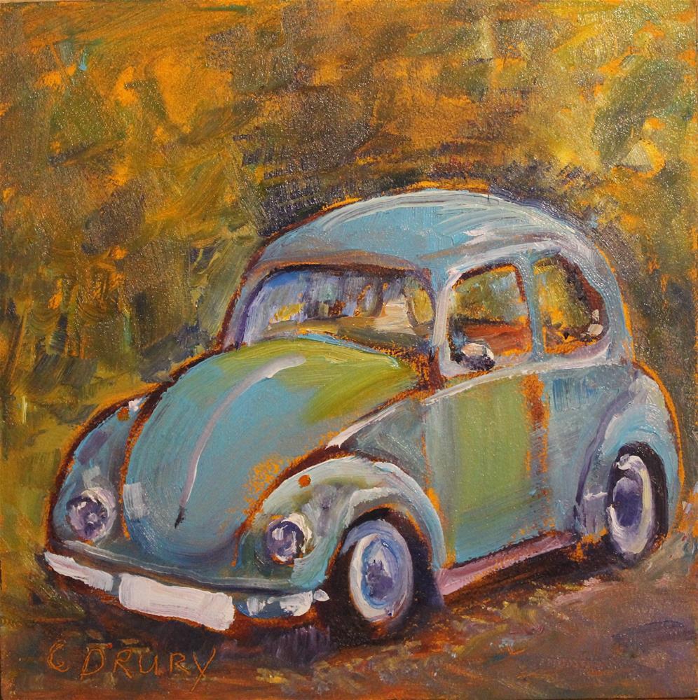 """""""Love Bug"""" original fine art by Colleen Drury"""