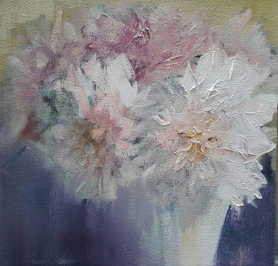 """Where fairies meet"" original fine art by Rentia Coetzee"