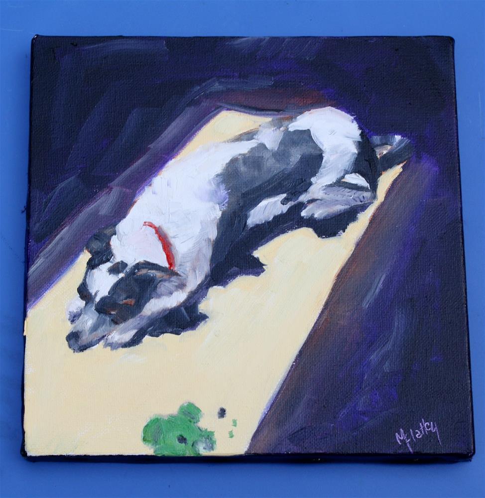 """Murphy"" original fine art by Maggie Flatley"