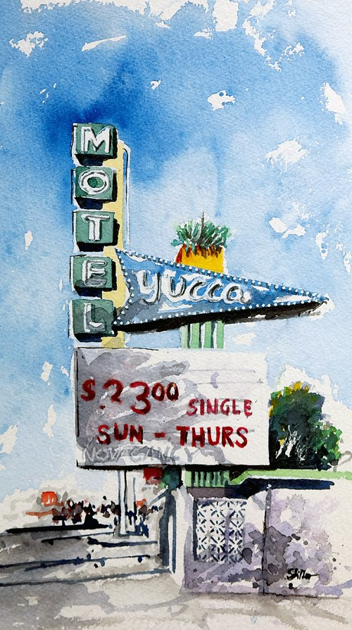 """2329 SUN - THURS"" original fine art by Dietmar Stiller"