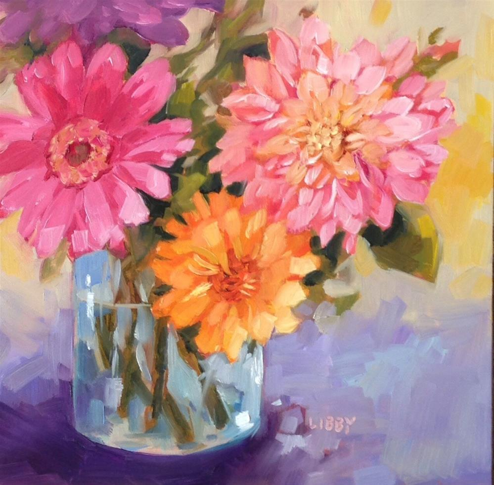 """Happy"" original fine art by Libby Anderson"