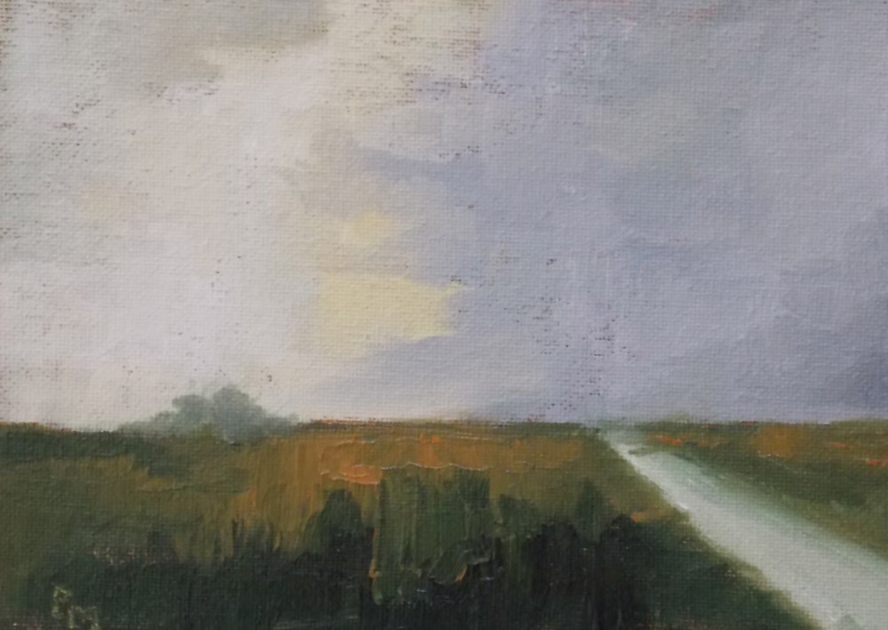 """Road Home"" original fine art by Pamela Munger"