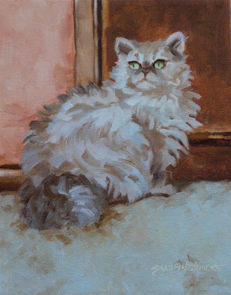 """Cashmere"" original fine art by Susan Ashmore"