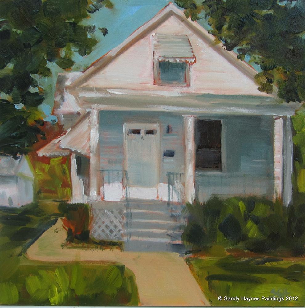 """North Harrison"" original fine art by Sandy Haynes"