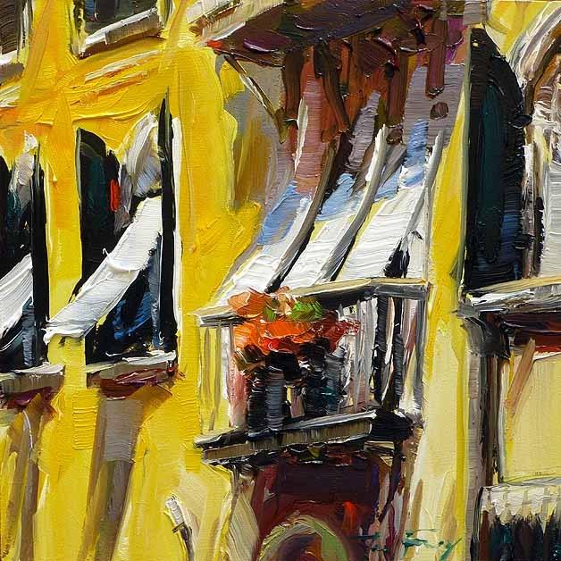 """""""Fenster von Venedig"""" original fine art by Jurij Frey"""
