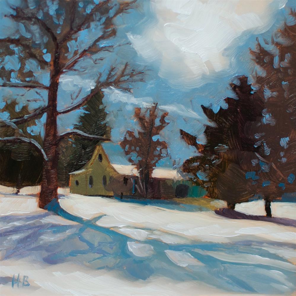 """Home"" original fine art by Heather Bullach"