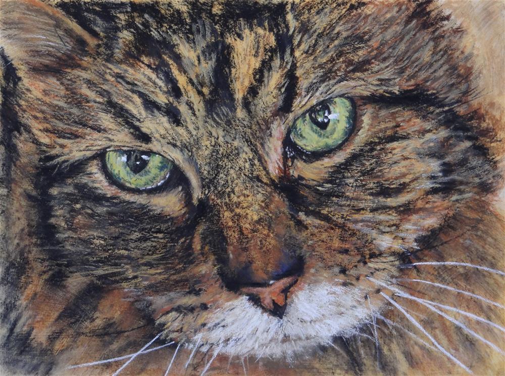 """Up Close"" original fine art by Denise Beard"