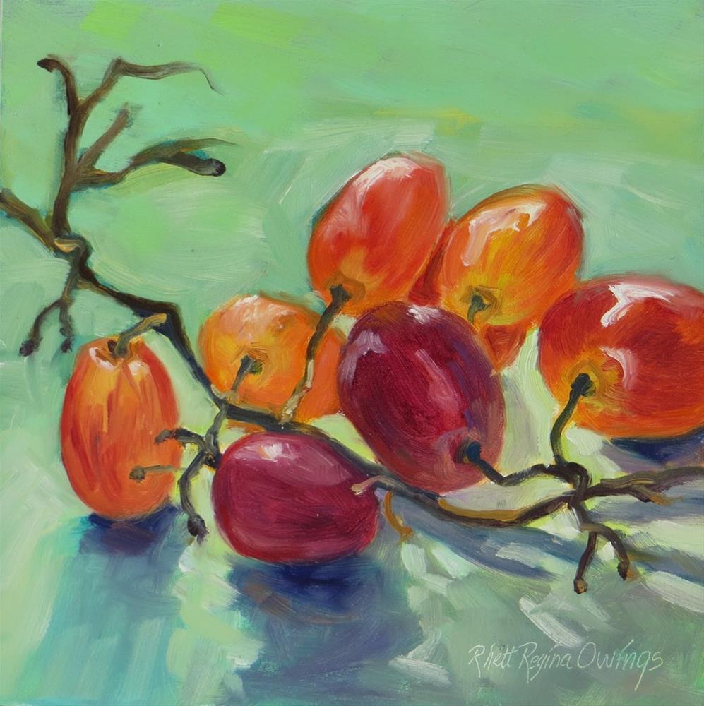 """Purple Grapes"" original fine art by Rhett Regina Owings"