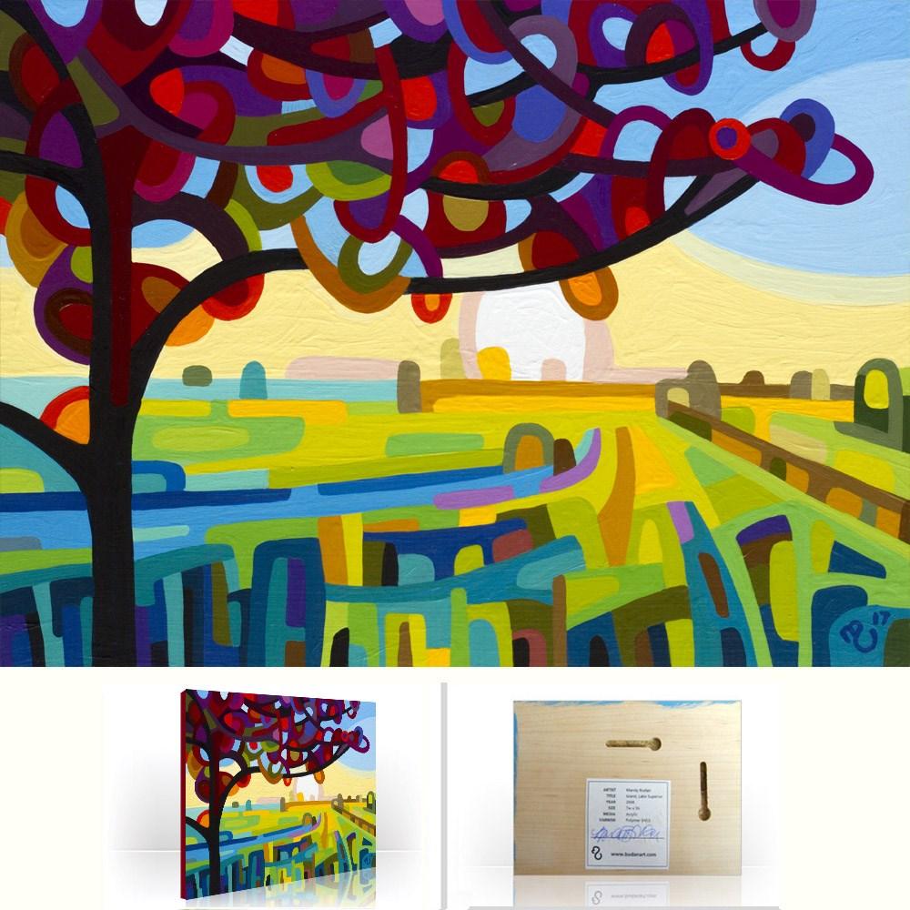 """Landscape Study #115"" original fine art by Mandy Budan"