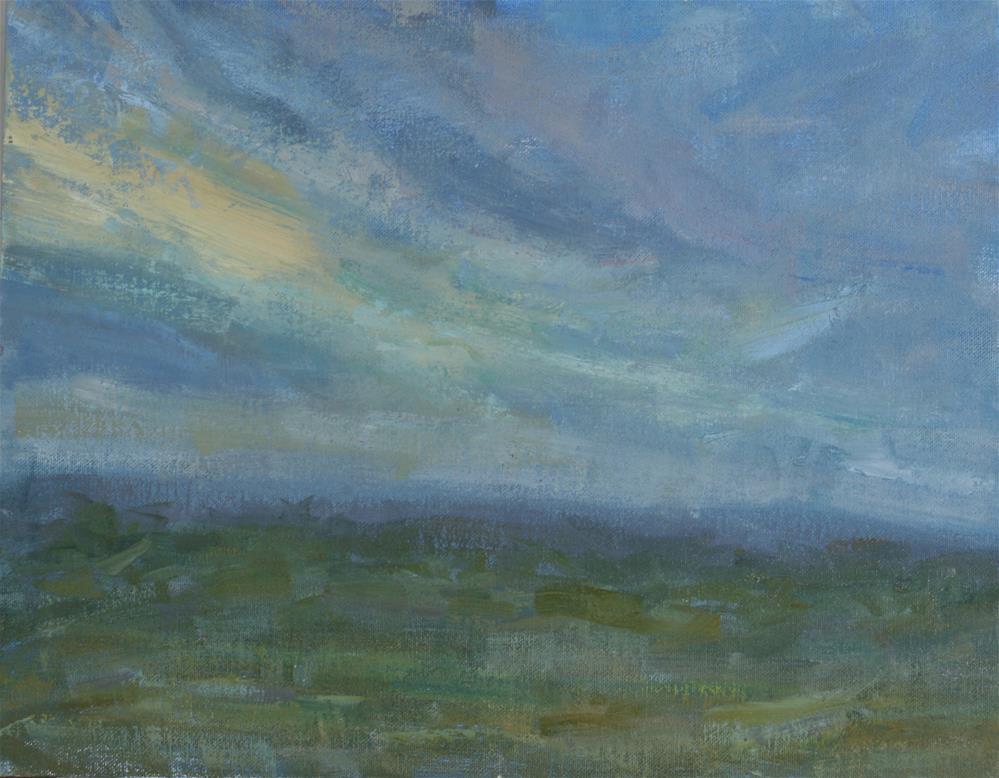 """""""Morning Light"""" original fine art by Scott Serafica"""