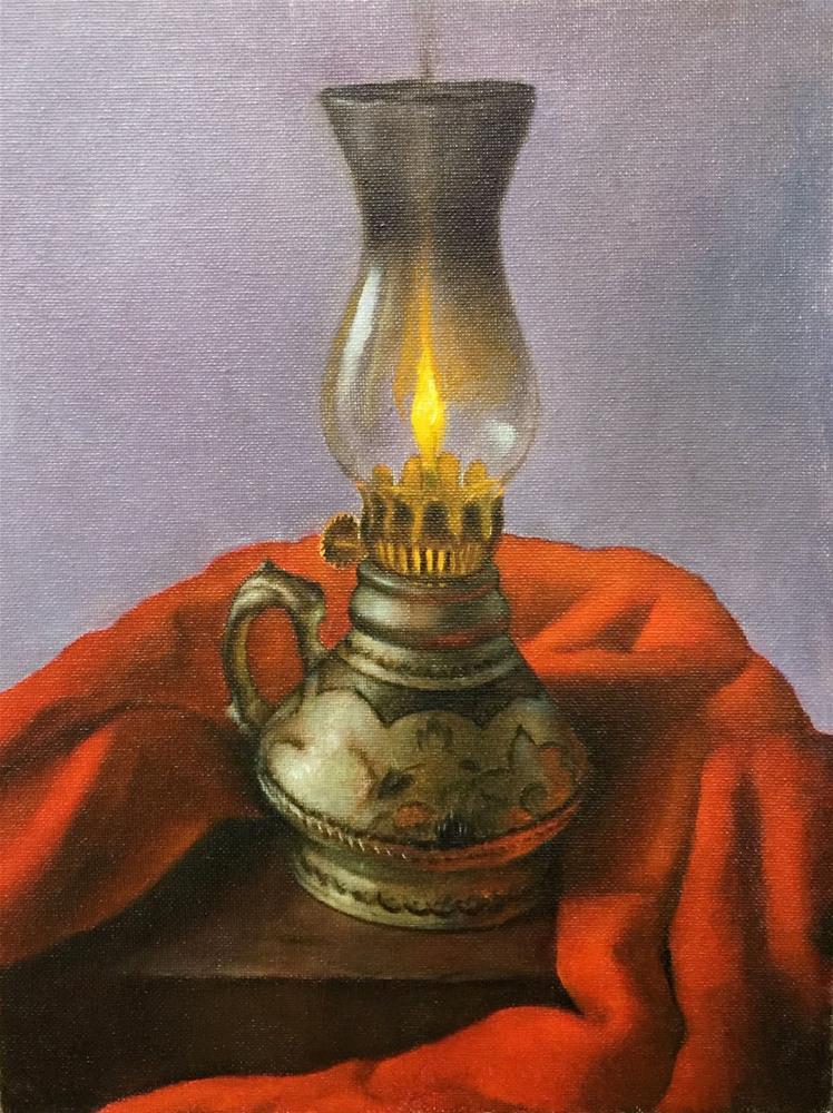 """Moroccan Lamp"" original fine art by Jonathan Aller"