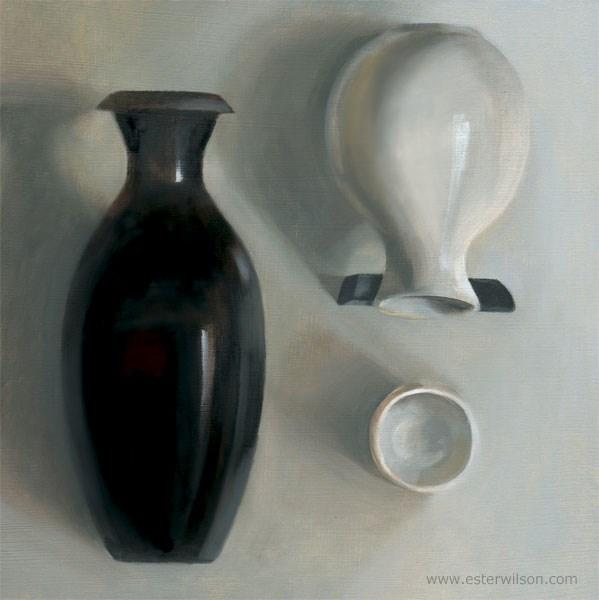 """Black Jar"" original fine art by Ester Wilson"