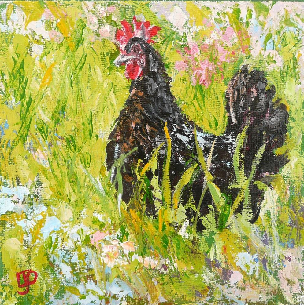 """""""Out And About"""" original fine art by Leanne Owen"""