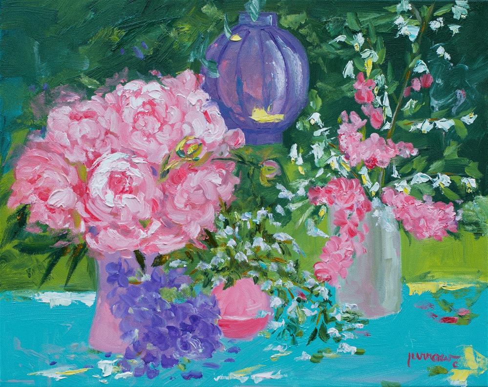 """Lesson #2- Lanterns"" original fine art by Sue Furrow"