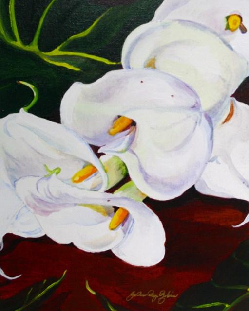 """""""Love and Gratitude"""" original fine art by JoAnne Perez Robinson"""