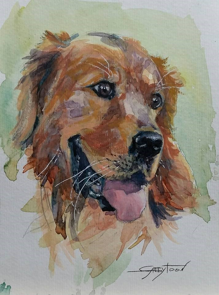 """Best Friend"" original fine art by Gabriella DeLamater"
