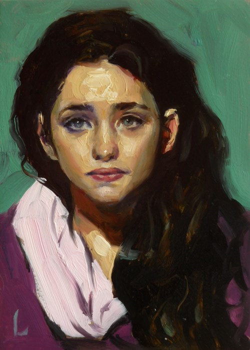 """Coiled"" original fine art by John Larriva"