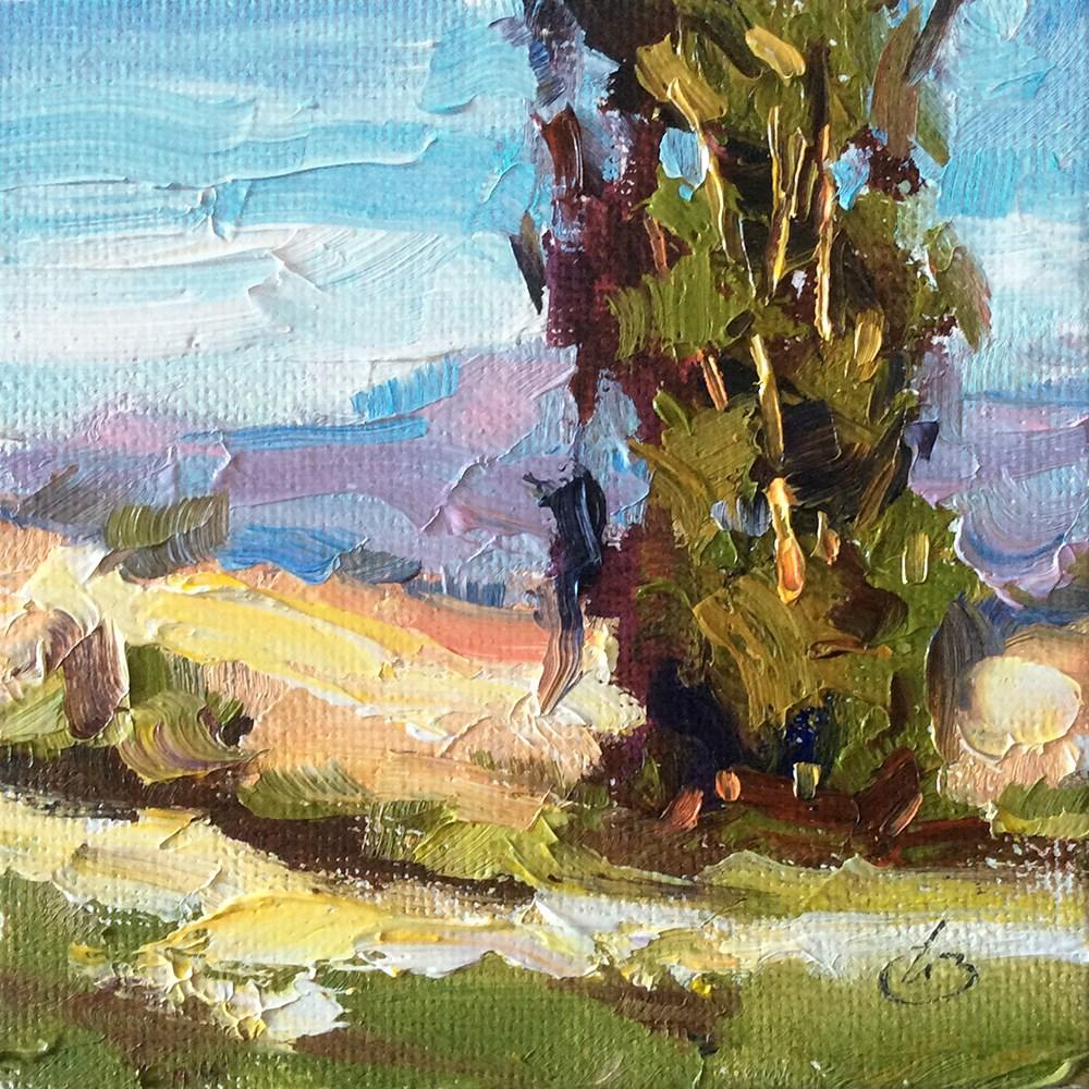 """""""CALIFORNIA PLEIN AIR"""" original fine art by Tom Brown"""