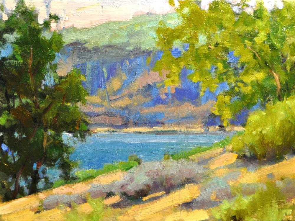 """Sultry Noon"" original fine art by Emiliya Lane"