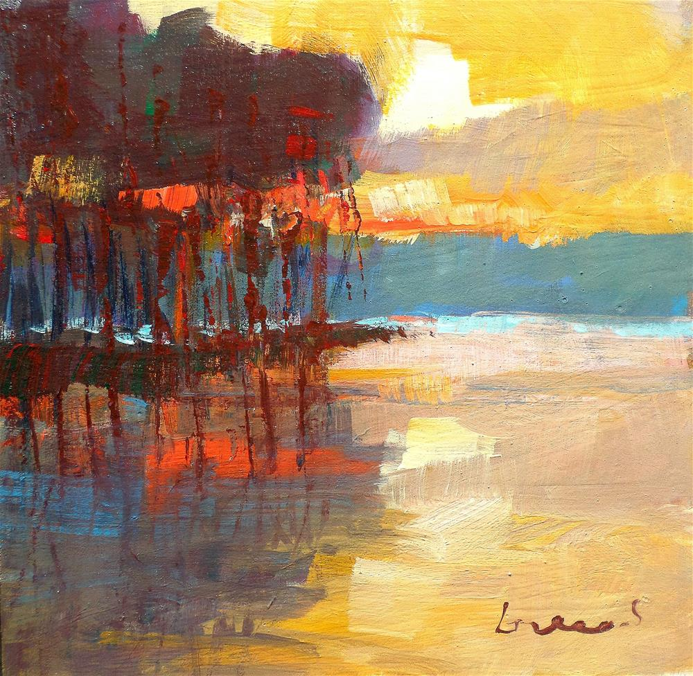 """Light morning"" original fine art by salvatore greco"