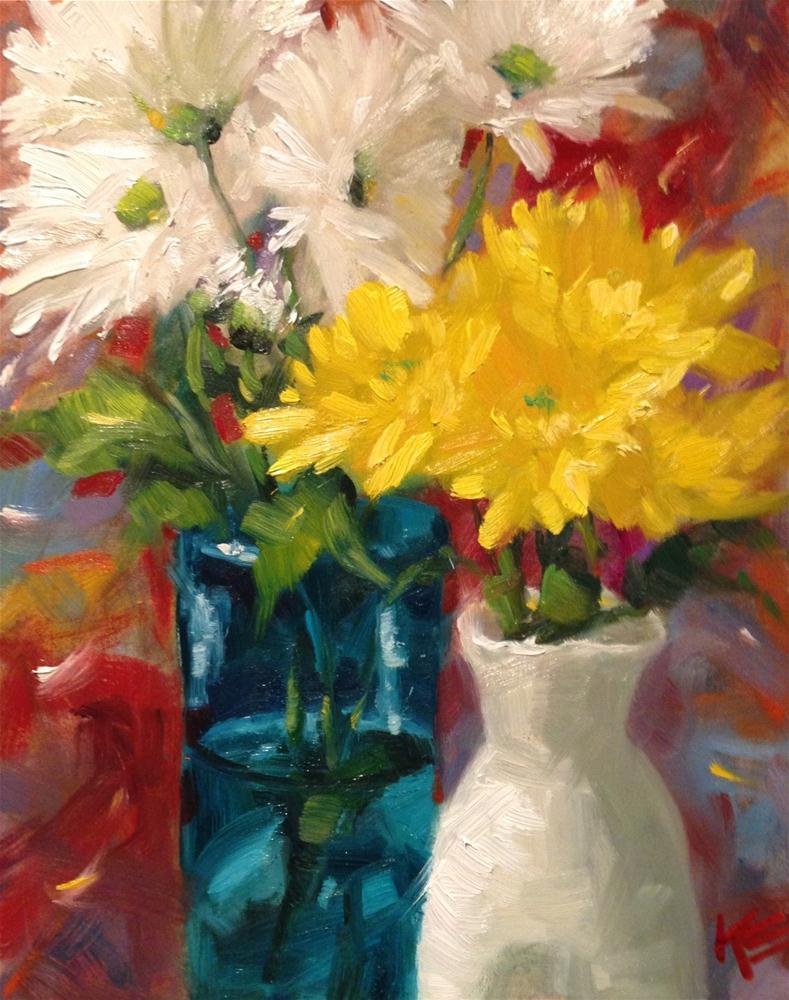 """Double Happiness"" original fine art by Krista Eaton"