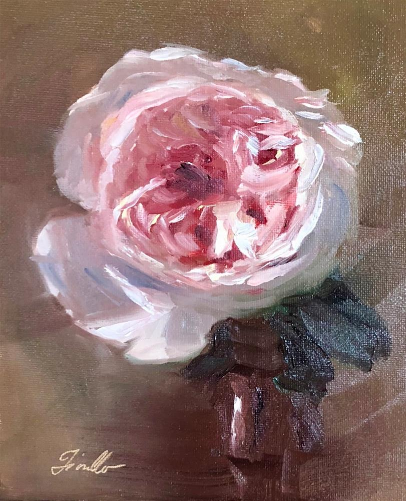 """Rose Study- Keira"" original fine art by Pat Fiorello"