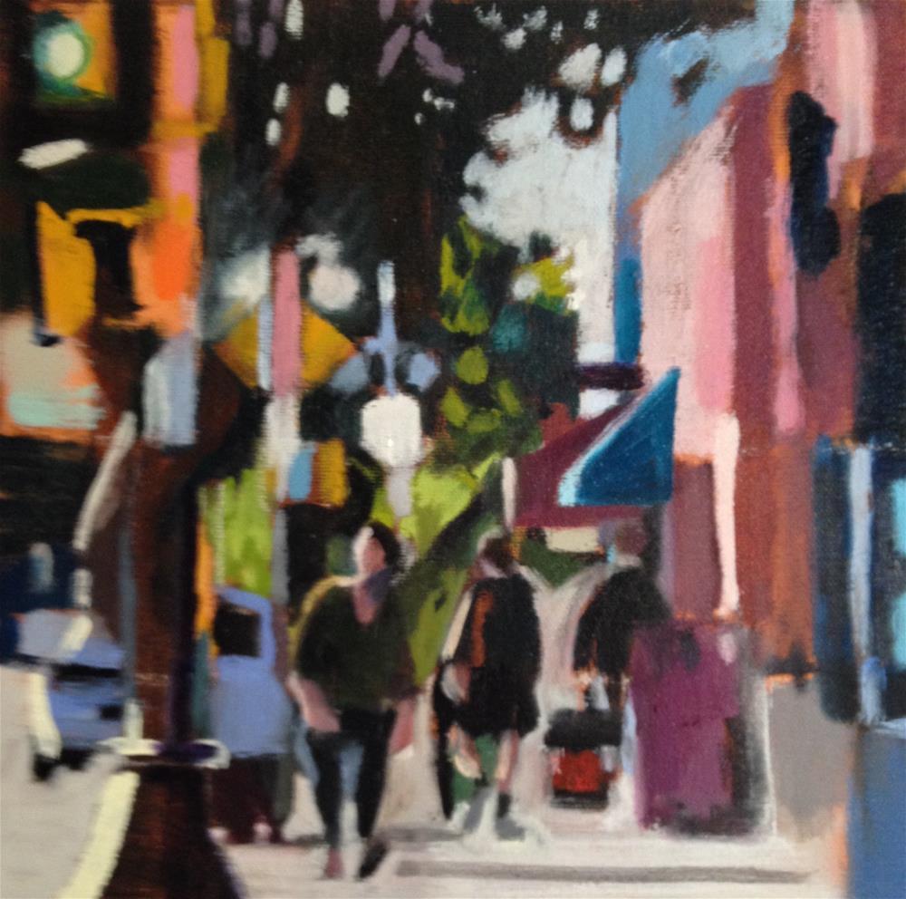 """Fourth Avenue Tucson"" original fine art by Pamela Hoffmeister"