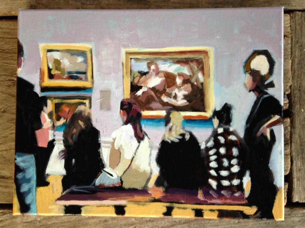 """Portland Art Museum"" original fine art by Pamela Hoffmeister"