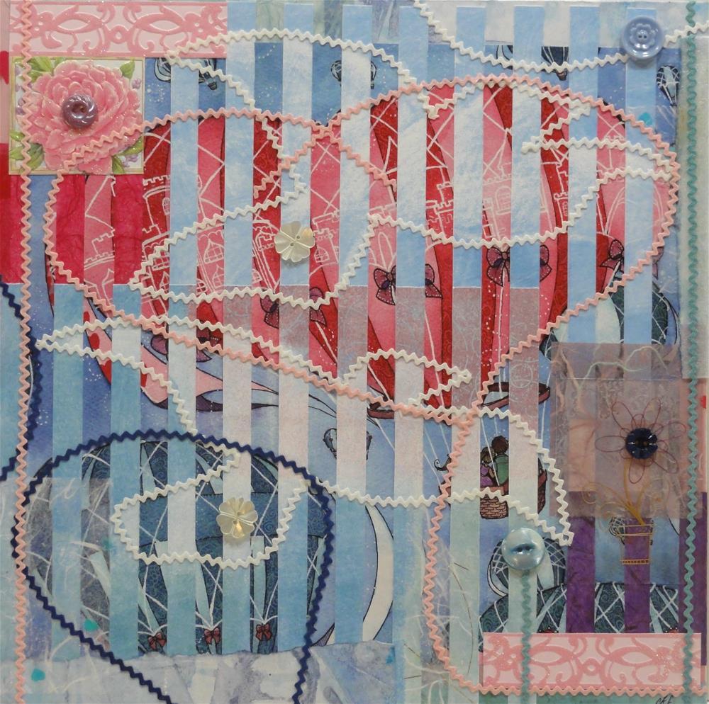 """""""May Your Hearts Soar"""" original fine art by Cynthia Frigon"""