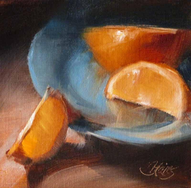 """Last Minute Snack"" original fine art by Pamela Blaies"