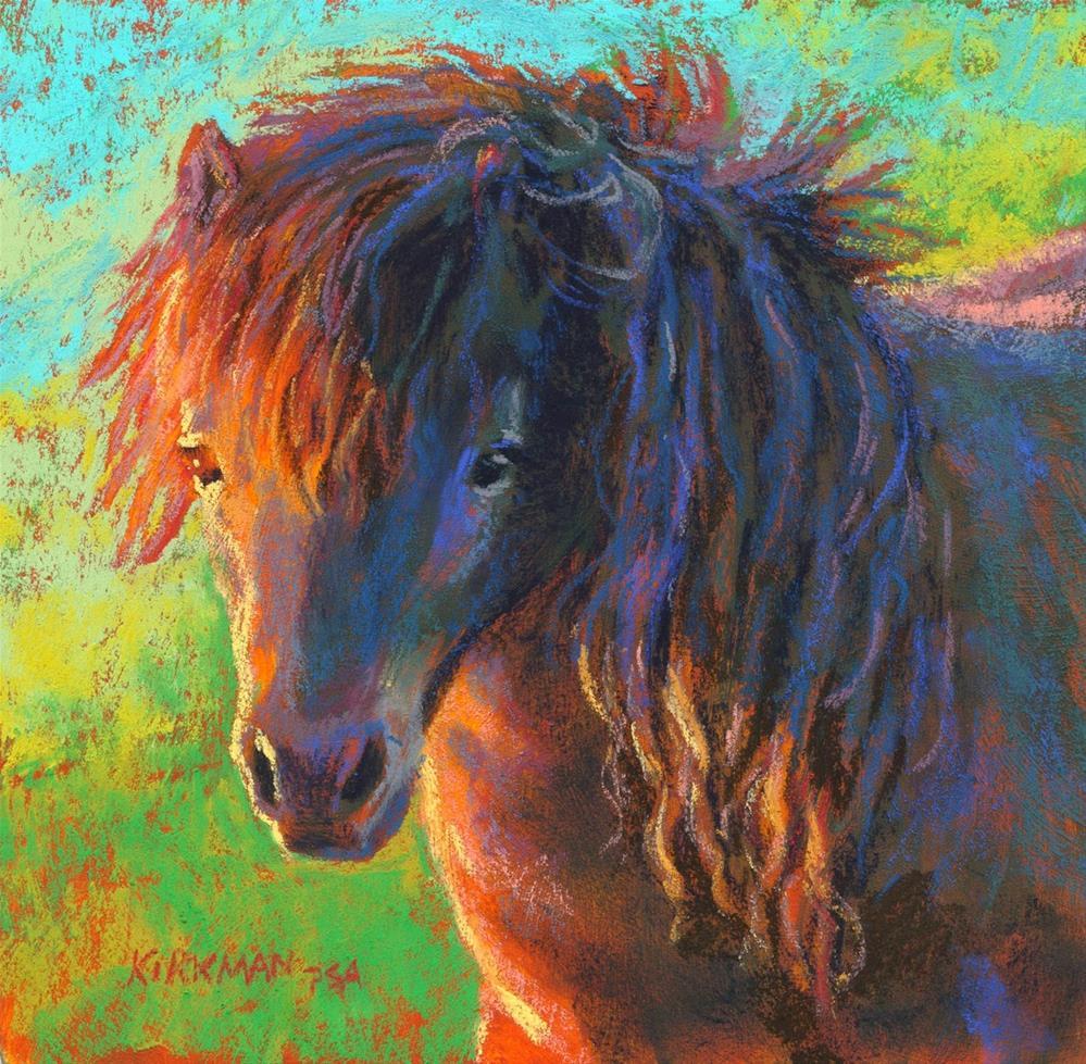 """Pretty Pony"" original fine art by Rita Kirkman"