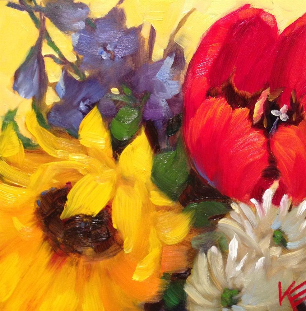 """Spontaneous Springtime"" original fine art by Krista Eaton"