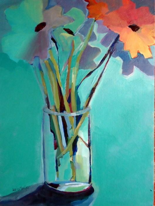 """Outsider"" original fine art by Laurie Mueller"