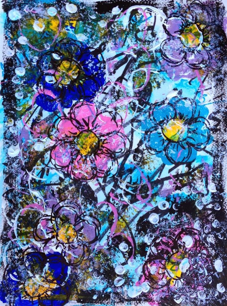 """Flower Power"" original fine art by Kali Parsons"