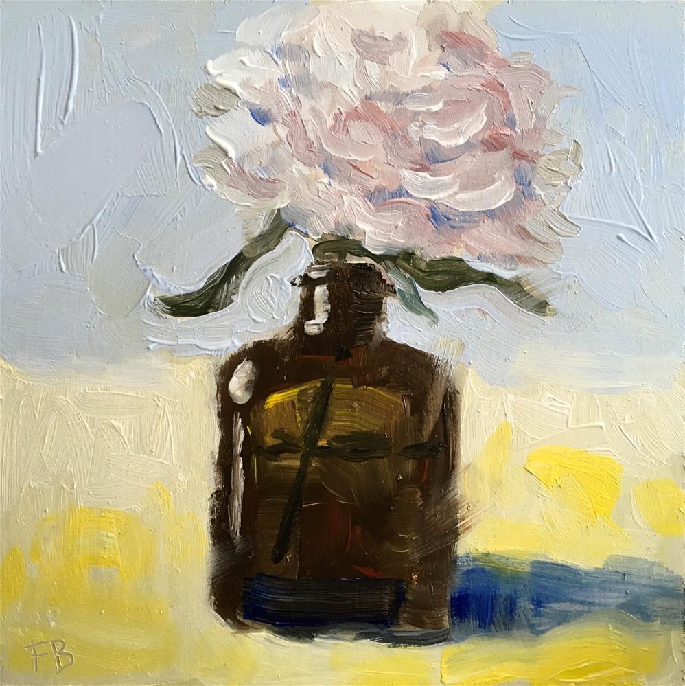 """""""252 Medecine Bottle Vase"""" original fine art by Fred Bell"""