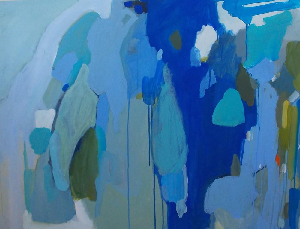 """Blue Ribbon"" original fine art by Pamela Munger"