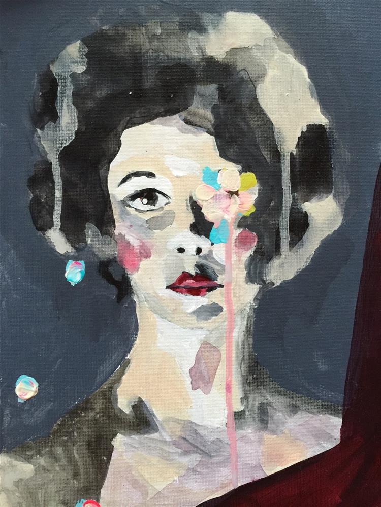 """""""78 Framed"""" original fine art by Jenny Doh"""