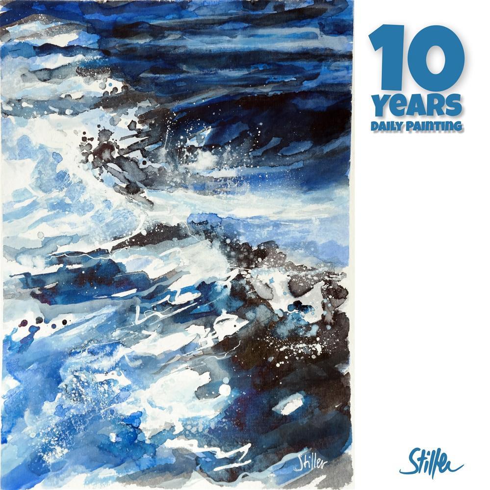 """3658 Sea, man"" original fine art by Dietmar Stiller"