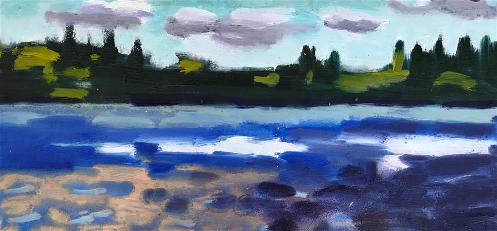 """More D Days"" original fine art by Pamela Hoffmeister"
