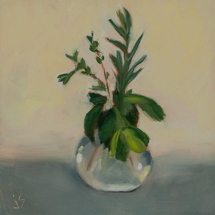 """""""Where's the Sage?"""" original fine art by Johnna Schelling"""