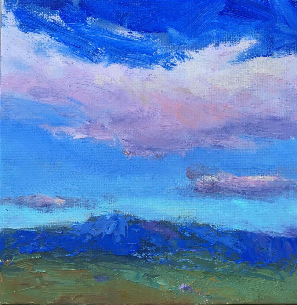 """High Above "" original fine art by Victoria  Biedron"