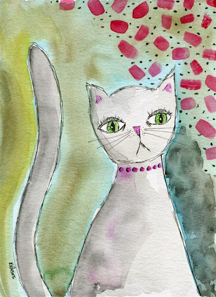 """A Moment of Concern"" original fine art by Kali Parsons"