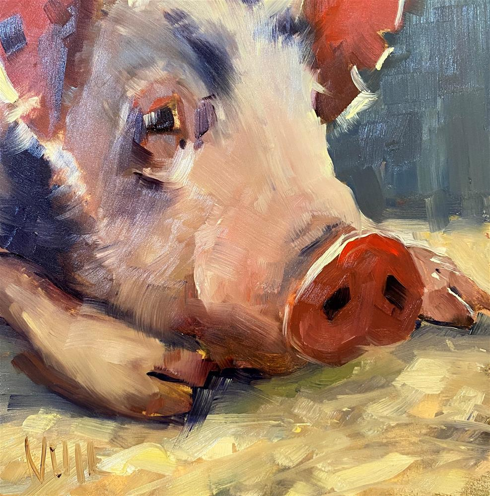 """Poor Judd"" original fine art by Patty Voje"