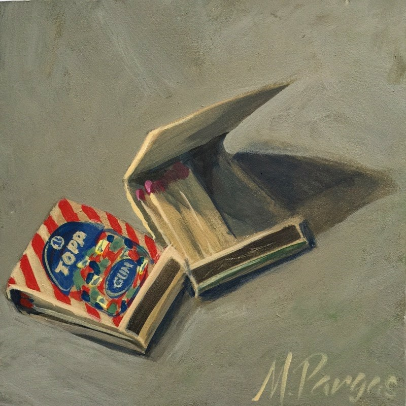 """Open Book"" original fine art by Mary Pargas"