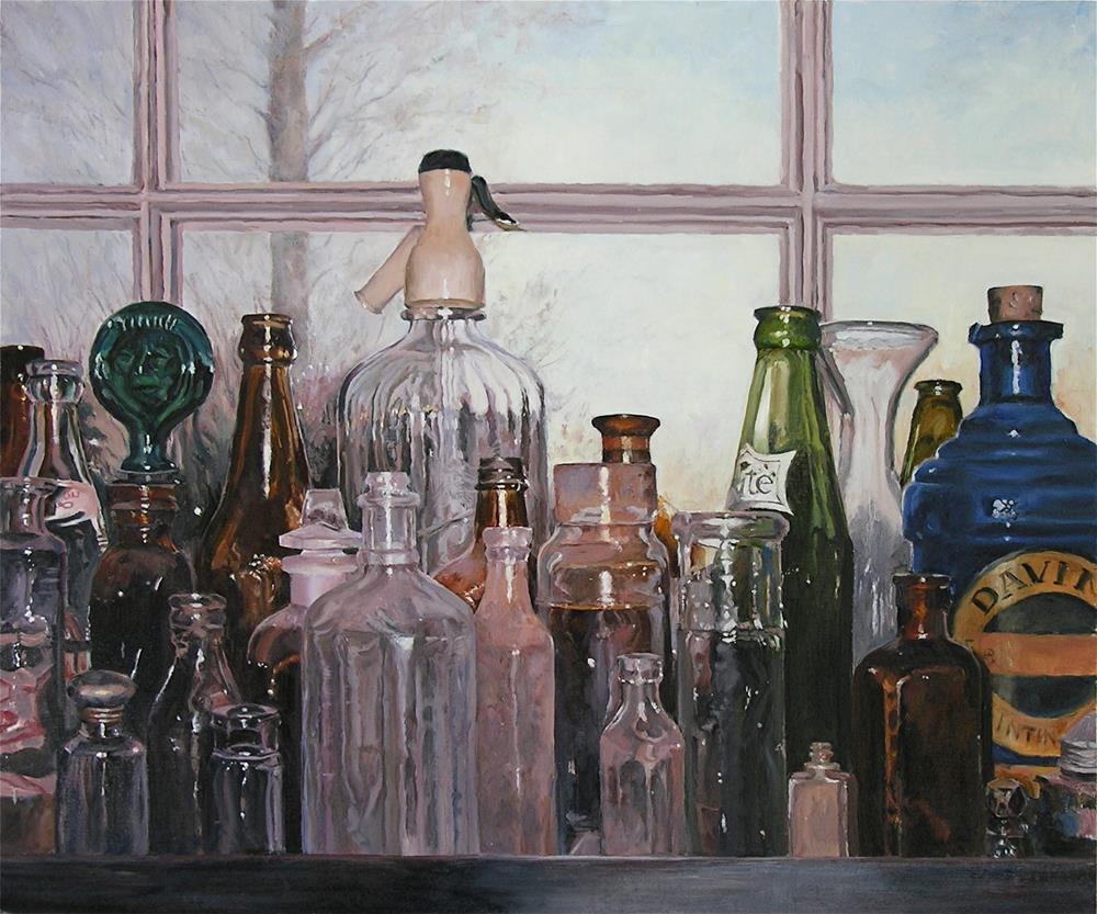 """Sparkle"" original fine art by Elaine Hahn"