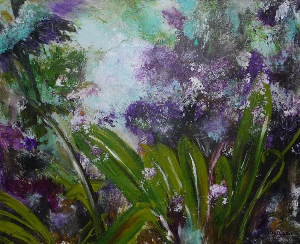 """Barb's Beauty"" original fine art by Cathy Dykstra"
