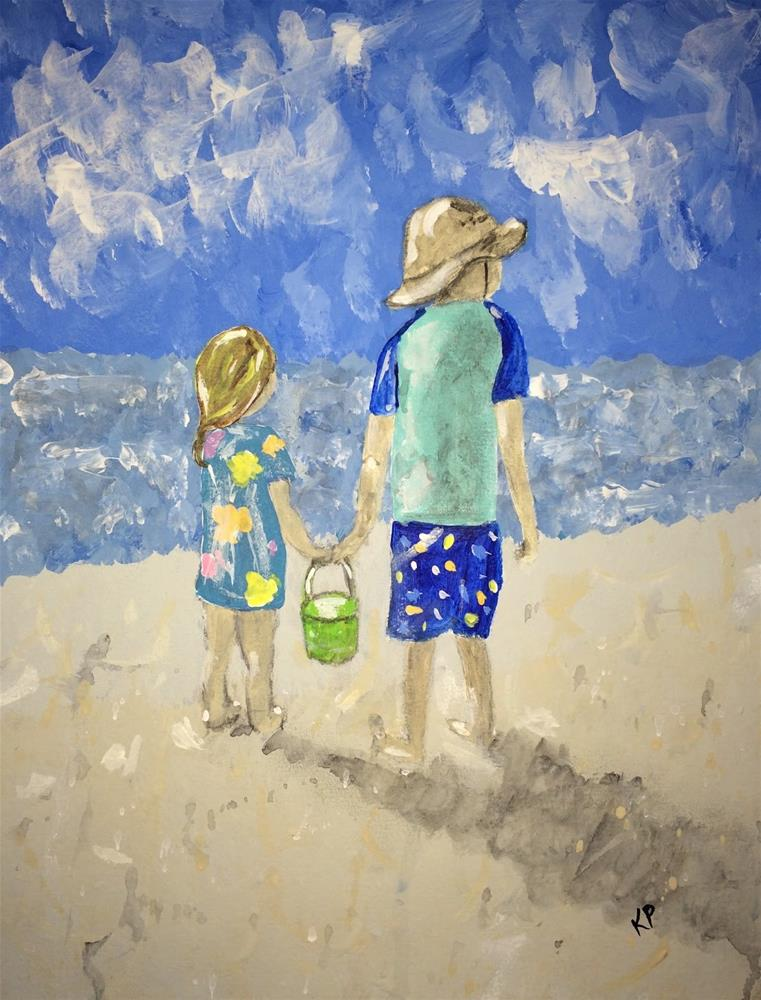 """""""Together 1"""" original fine art by Kali Parsons"""