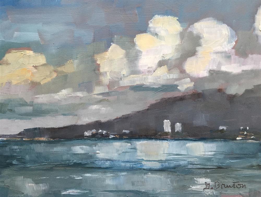 """""""Puerto Vallarta Plein Air"""" original fine art by Gary Bruton"""